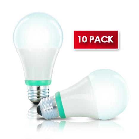10-Pk CleanLife LED 6.5W Bulb