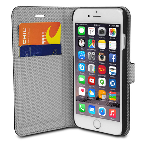 Magnetic Wallet and Case for cell Phone