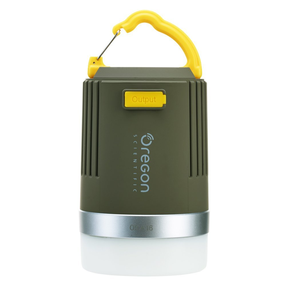 Oregon Scientific Compact Waterproof Camping Lantern