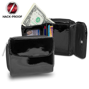 Travelon Safe ID French-Style Leather Wallet with RFID Blocking