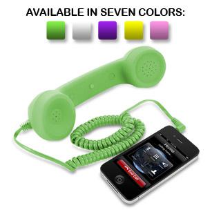Universal Cell Phone Retro Handset