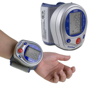 Deluxe Digital Wrist Blood Pressure Monitor with Memory
