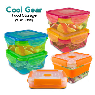 Cool Gear Microwavable Storage Containers