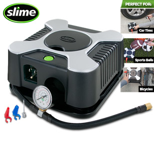 Slime Wall Plug-In 120V Tire Inflator