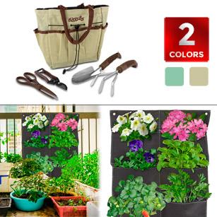 Blooms Deluxe 5-Piece Gardening Tool Set