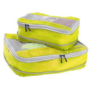 Lewis N Clark Neon Yellow Packing Cubes
