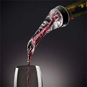 Trudeau Wine Aerating Pourer with Stand