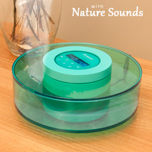 AuraBreeze Essential Oil Diffuser with Nature Sounds