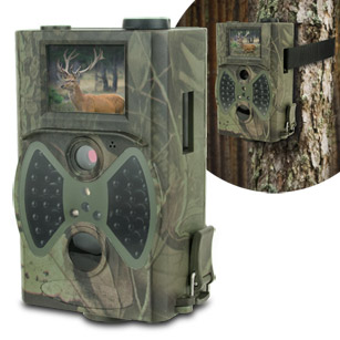 """Amcrest 12MP Digital Trail Camera with 2"""" LCD Screen"""