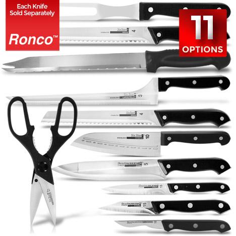Ronco 11 Piece Six Star Plus Knives