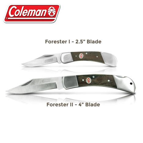 Coleman Forester Lockback Knives