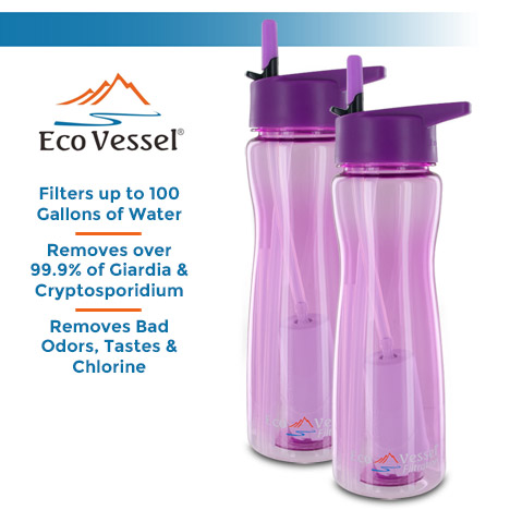 Eco Vessel Ultra Lite Filtration Bottle