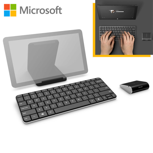 Microsoft Wedge Mobile Keyboard and Wireless Mouse