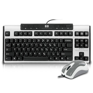 HP 533964-001 Mini Keyboard w/Mouse