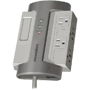 Panamax M4-EX 4 Outlets Surge Suppressor - Receptacles: 4 - 1650J