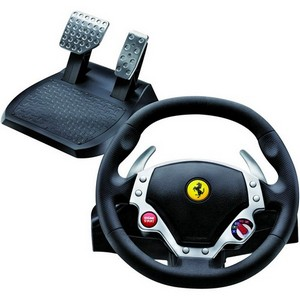 Guillemot FERRARI F430 Force Feedback Racing Wheel - Cable - PC