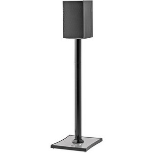 OmniMount Gemini2B Speaker Stand - Steel - Black