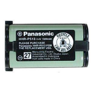 Panasonic HHR-P513A Nickel-Metal Hydride Cordless Phone Battery - Nickel-Metal Hydride (NiMH) - 2.4V DC