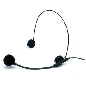 Image of Azden HS-11 Headworn Microphone - Electret - Cable