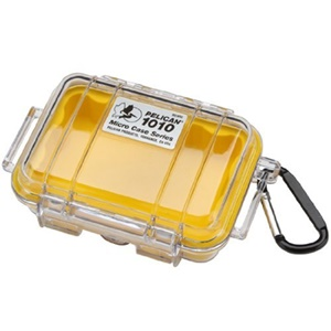 "Pelican 1010 Multi Purpose Micro Case - 4.06"" x 2.12"" x 5.88"" - Yellow"
