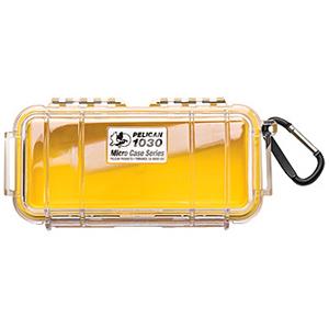 "1030 Multi Purpose Micro Case - 3.87"" x 2.43"" x 7.5"" - Yellow"