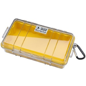 "1060 Micro Multi Purpose Case - 5.56"" x 2.62"" x 9.37"" - Yellow"