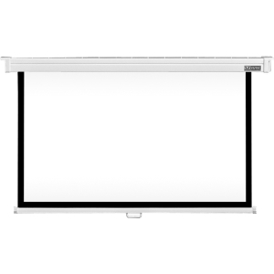 Vutec Consort Deluxe Manual Projection Screen - Manual - 54&quot; x 96&quot; - Matte White - 110&quot; Diagonal - 16:9 - Ceiling Mount, Wall Mount