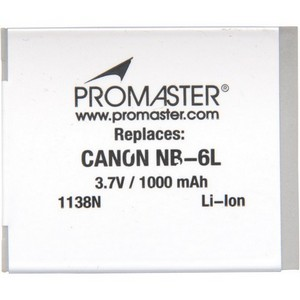 NABC ULNB6L Lithium Ion Camera Battery - Lithium Ion (Li-Ion) - 1000mAh - 3.7V DC