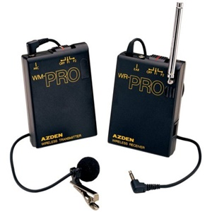 Azden Self-contained Handheld Microphone - Wireless