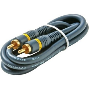 Steren Audio Cable - RCA Male Audio - RCA Male Audio - 12ft - Blue