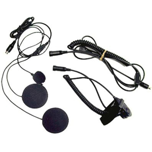 Midland AVPH2 Closed Faced Helmet Earset - Over-the-ear