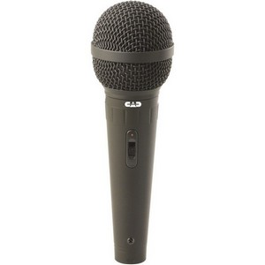 CAD CAD12 Cardioid Vocal Microphone - Dynamic - Handheld - 80Hz to 13kHz - Cable