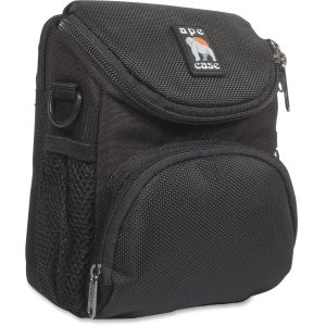 Ape Case AC220 Camcorder/Digital Camera Case - Top Loading - Shoulder Strap6.62&quot; x 5&quot; x 3.5&quot; - Nylon - Black