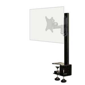 Level Mount DCDSK30SJ Desktop Mount with Full Motion Mount - 60 lb - Black