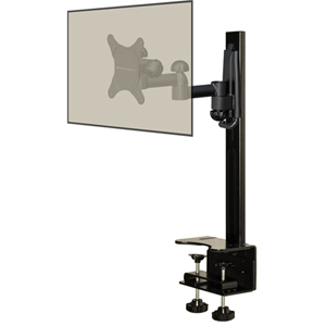 Level Mount DCDSK30DJ Desktop Mount with Full Motion Mount - 60 lb - Black