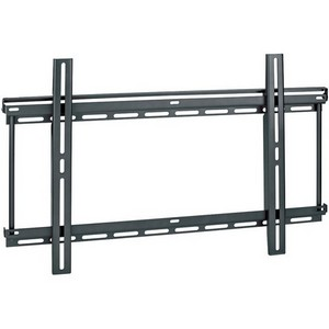 OmniMount WorldMount 1N1-LB Fixed Flat Panel Wall Mount - 175 lb - Black