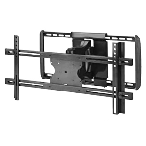 OmniMount WorldMount 4N1-L Flat Panel Wall Mount - 125 lb - Black