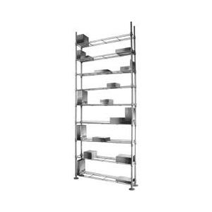Atlantic - Maxx 12 Multimedia Shelving - Steel