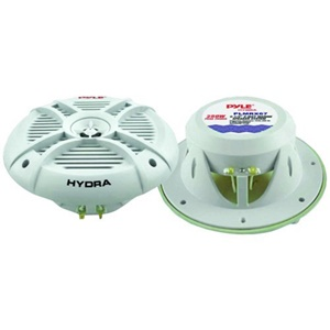 "Pyle Hydra PLMRX67 250 Watts 6.5"" 2 Way Marine Speakers"