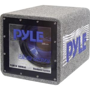Pyle Blue Wave PLQB12 Woofer - Blue - 25 Hz to 600 kHz - 4 Ohm
