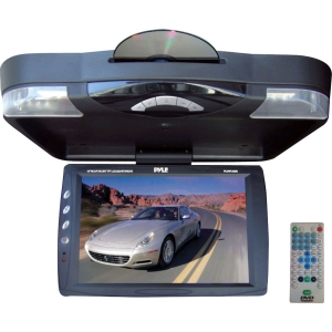 "Pyle PLRD143IF Car DVD Player - 14.1"" LCD - 16:9 - DVD Video, DivX, Video CD1280 x 800 - iPod/iPhone Compatible - Roof-mountable"