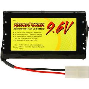 AmperGen Nitro Power Radio Controller Battery - Nickel-Cadmium (NiCd) - 700mAh - 9.6V DC