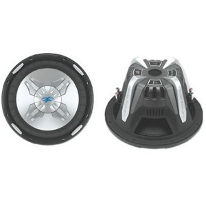 Power Acoustik P2-10W Woofer - 600 W RMS - 4 Ohm - 10""
