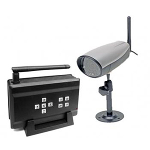 Q-see QSDT404C Wireless Surveillance System - 1 x Camera, Receiver - Motion JPEG Formats