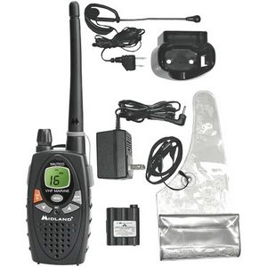 Midland NT1VP Marine Radio - VHF - 88 Marine / 10 Weather - 5W