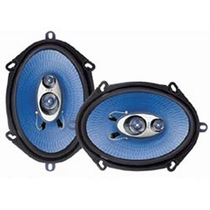 "Pyle Blue Label PL573BL Speaker - 150 W RMS - 2 Pack - 4 Ohm - 5"" x 7"""