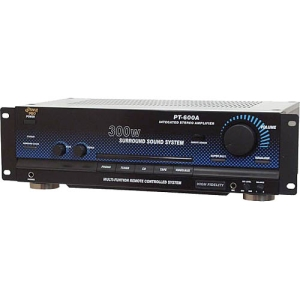 Pyle PT600A Stereo Amplified Receiver - AM, FM
