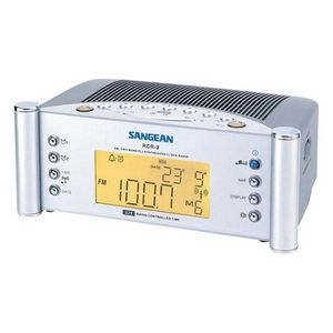 Sangean RCR-2 Clock Radio - LCD Alarm - FM
