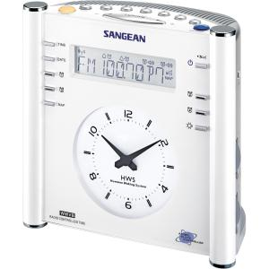 Sangean RCR-3 Clock Radio - LCD