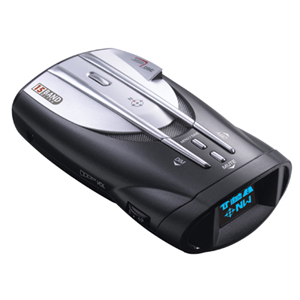 Cobra XRS 9845 Digital Radar Detector - K-band, Ka Band, Ku Band, Ka Superwide, Ku Band, X-band, VG-2 - VG-2 Immunity - Dim, Highway, City - 360° Detection